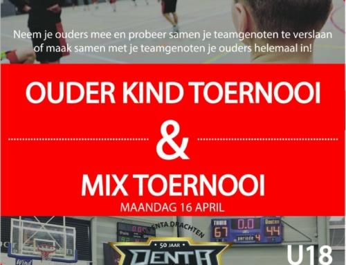 Ouder-kind en Mix toernooi Jubileum versie